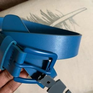 NWT The Rail Men's Blue Monochrome Belt Sz 30